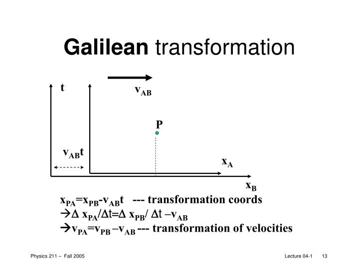 Galilean