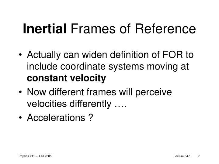 Inertial
