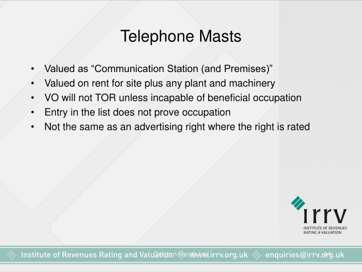 Telephone Masts