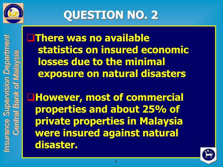QUESTION NO. 2
