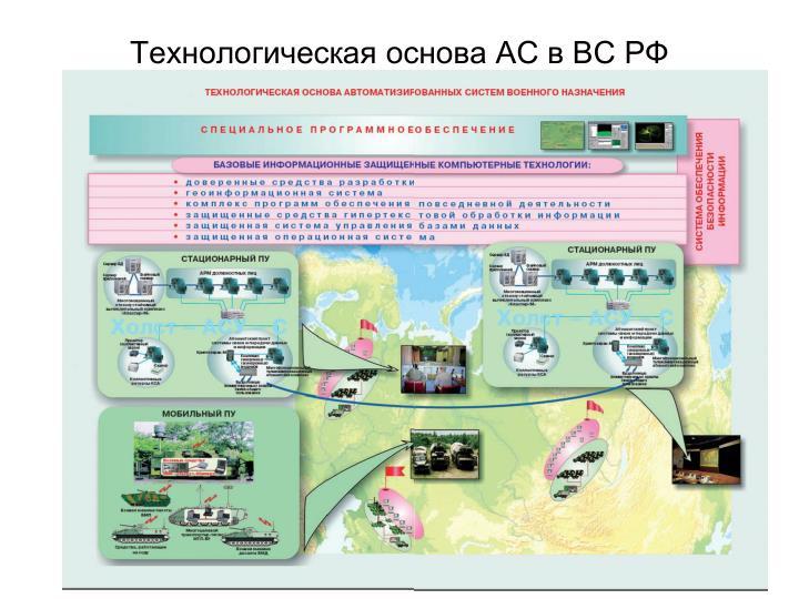 Технологическая основа АС в ВС РФ