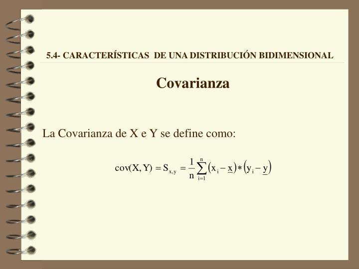Covarianza