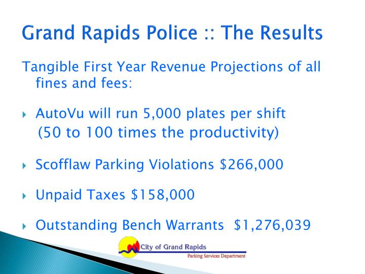 Grand Rapids Police :: The Results