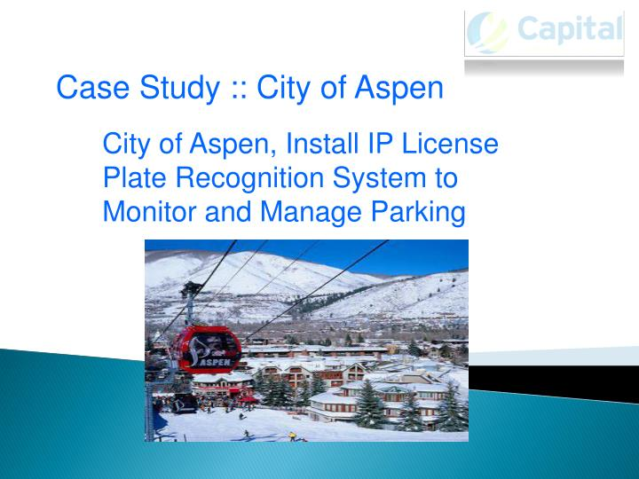 Case Study :: City of Aspen