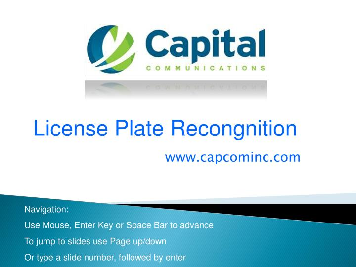 License Plate Recongnition