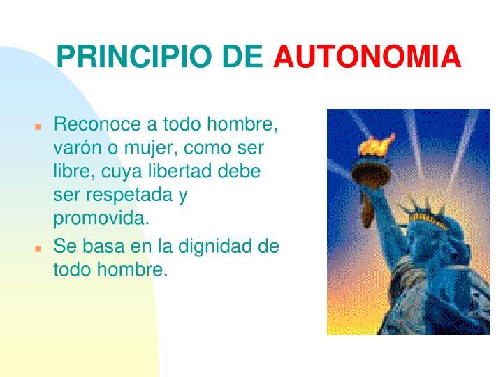 PRINCIPIO DE