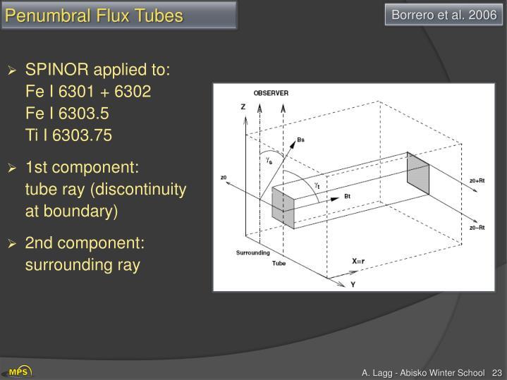 Penumbral Flux Tubes