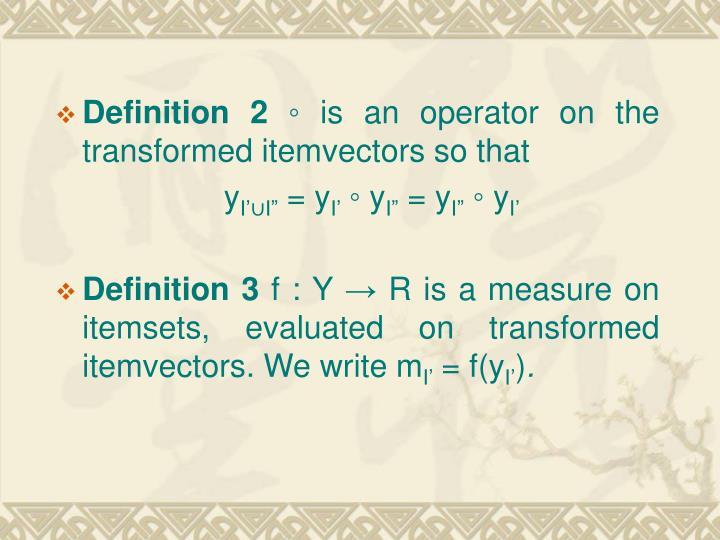 Definition 2