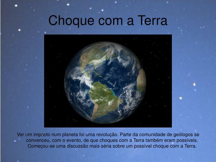 Choque com a Terra