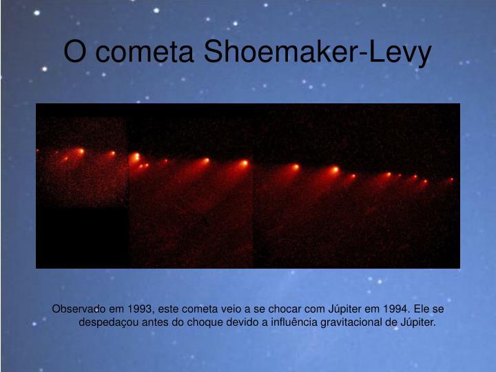 O cometa Shoemaker-Levy