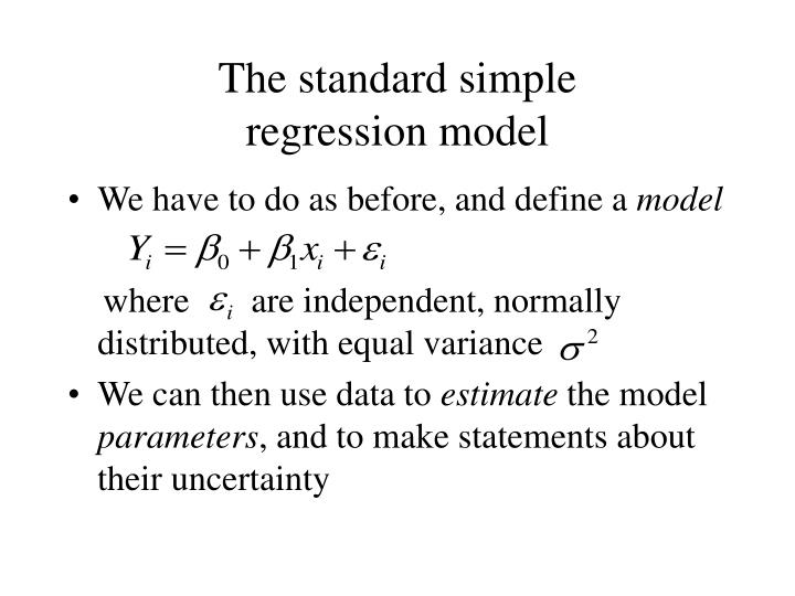 The standard simple