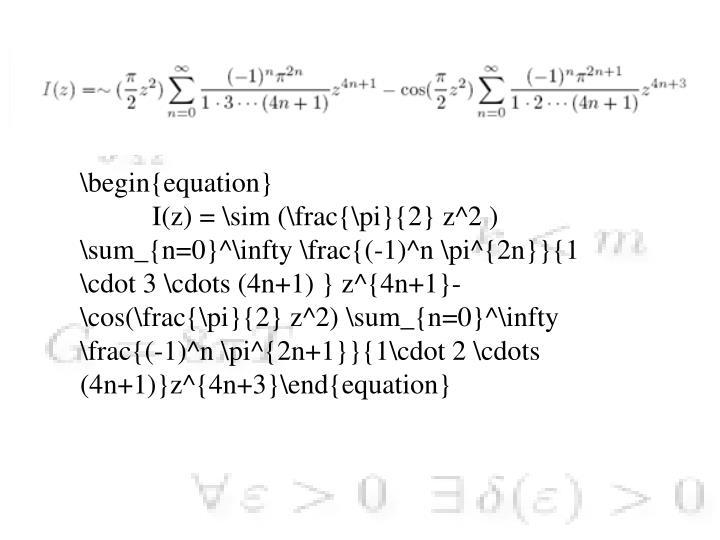 \begin{equation}