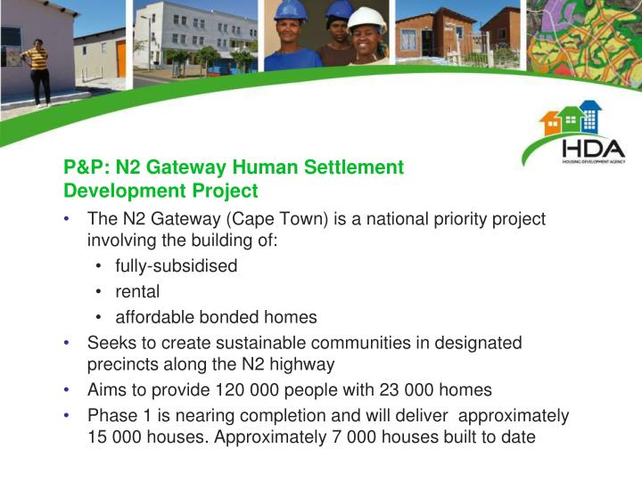 P&P: N2 Gateway Human Settlement Development Project