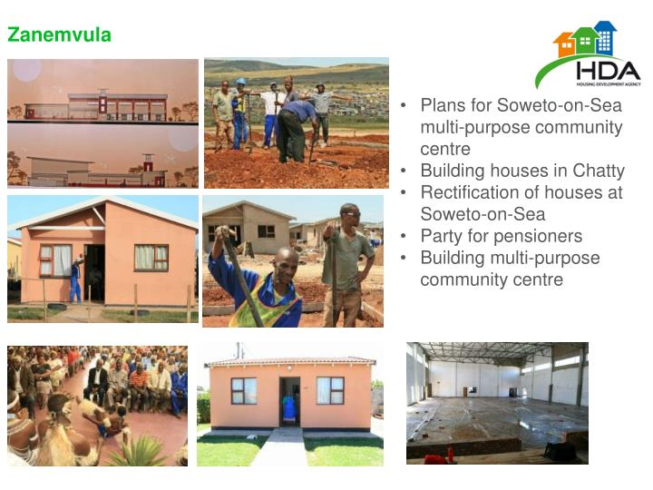 Plans for Soweto-on-Sea multi-purpose community centre