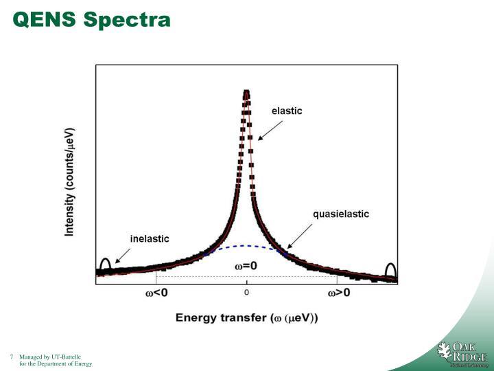 QENS Spectra