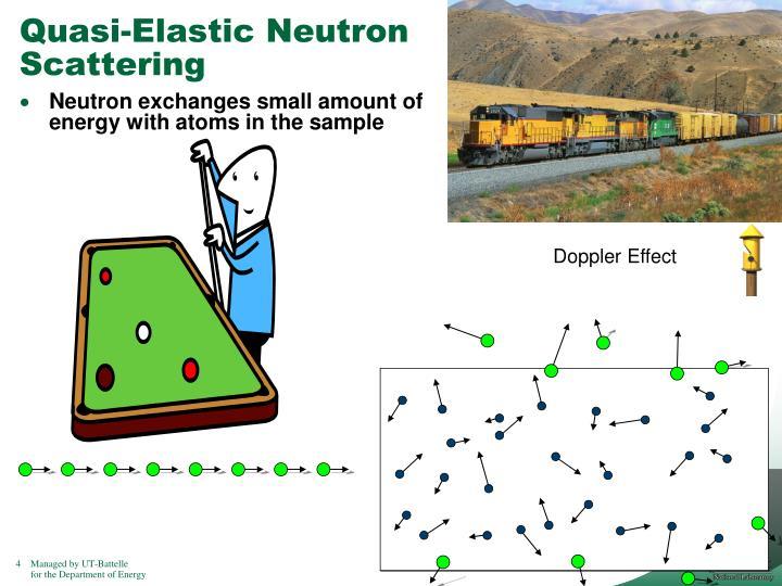 Quasi-Elastic Neutron