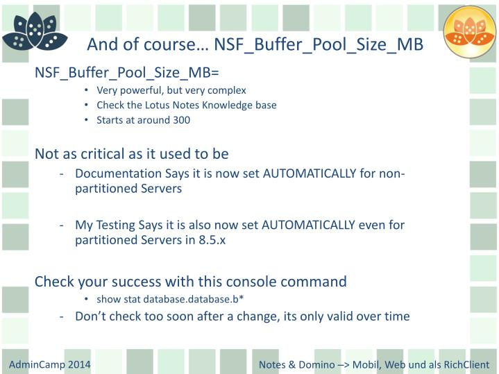 And of course… NSF_Buffer_Pool_Size_MB