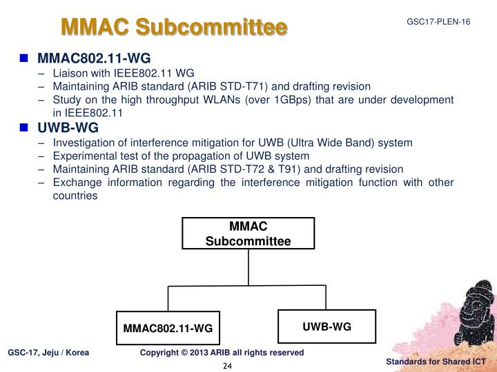 MMAC Subcommittee