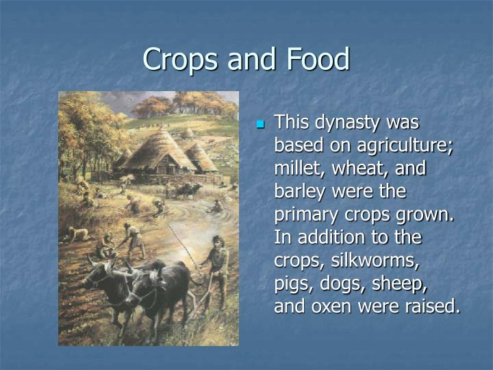 Crops and Food