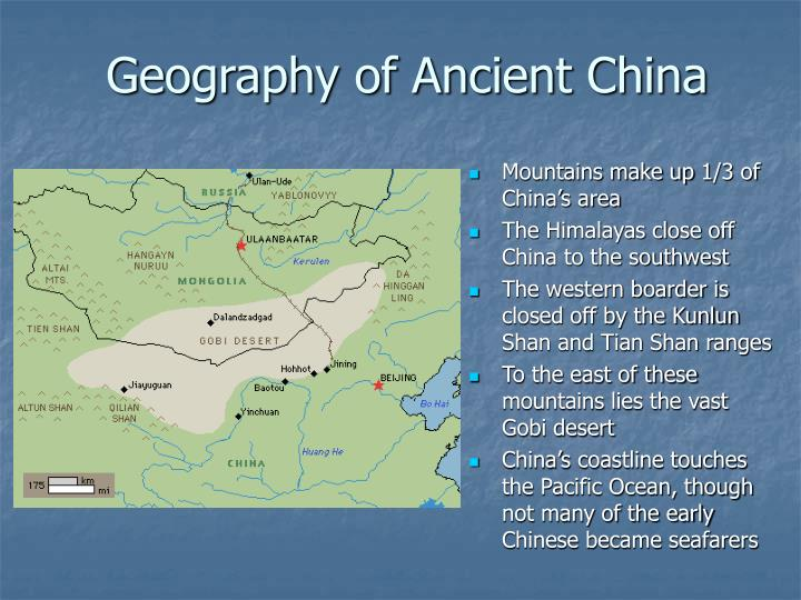 Geography of Ancient China