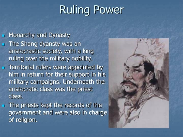 Ruling Power