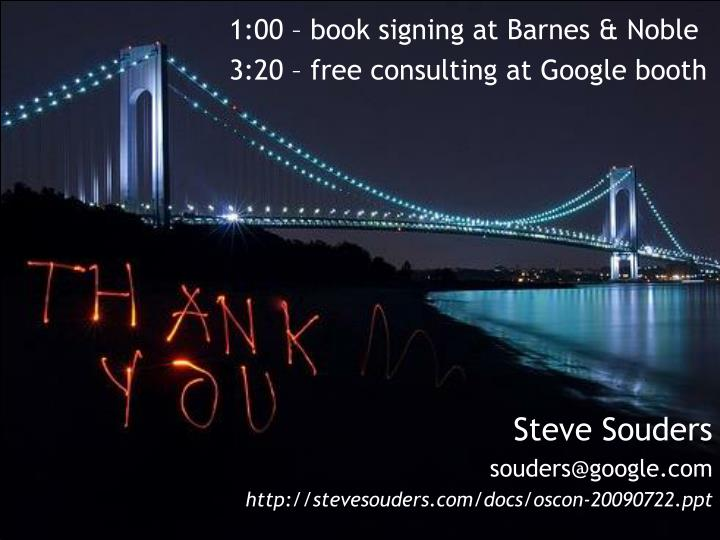1:00 – book signing at Barnes & Noble