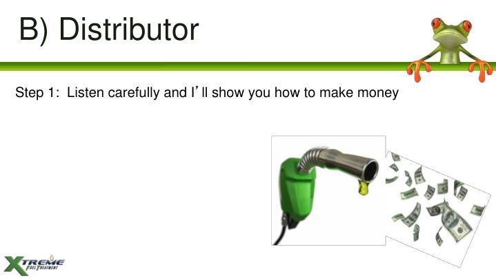 B) Distributor