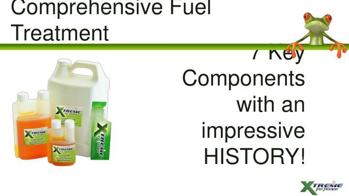 Comprehensive Fuel Treatment