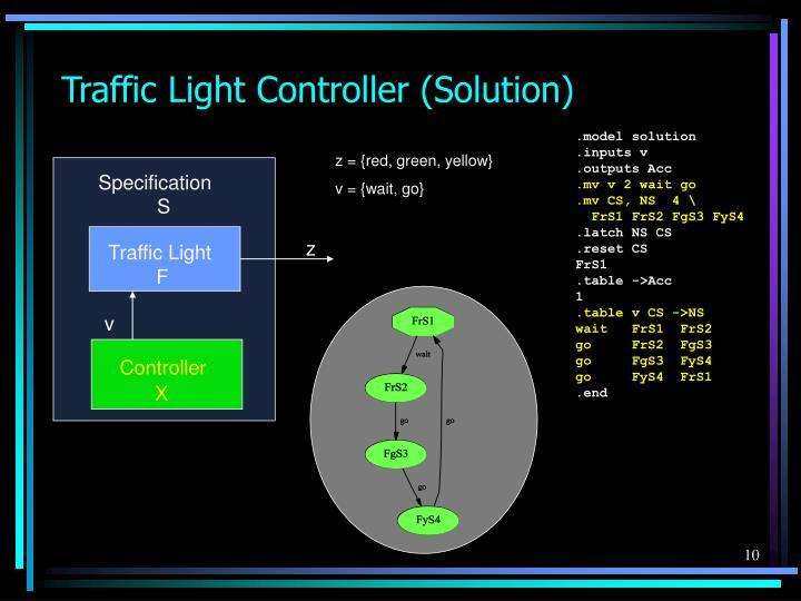 Traffic Light Controller (Solution)