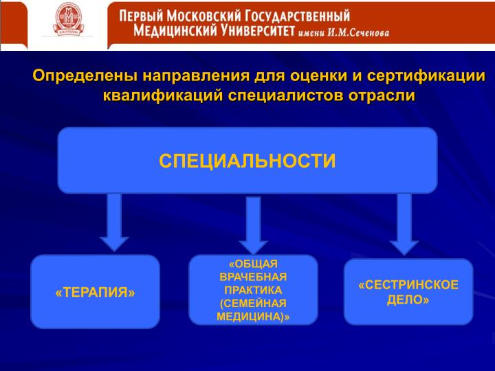 Определены направления для оценки и сертификации квалификаций специалистов отрасли
