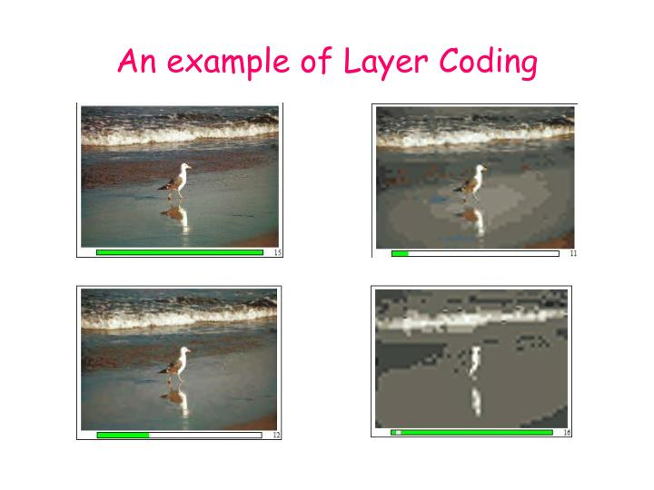 An example of Layer Coding