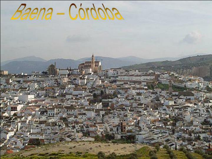 Baena – Córdoba