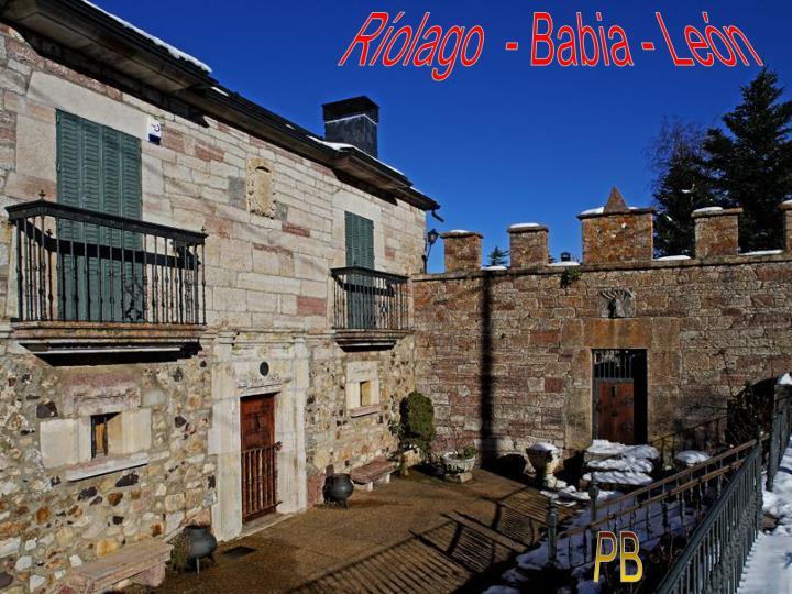 Ríolago  - Babia - León