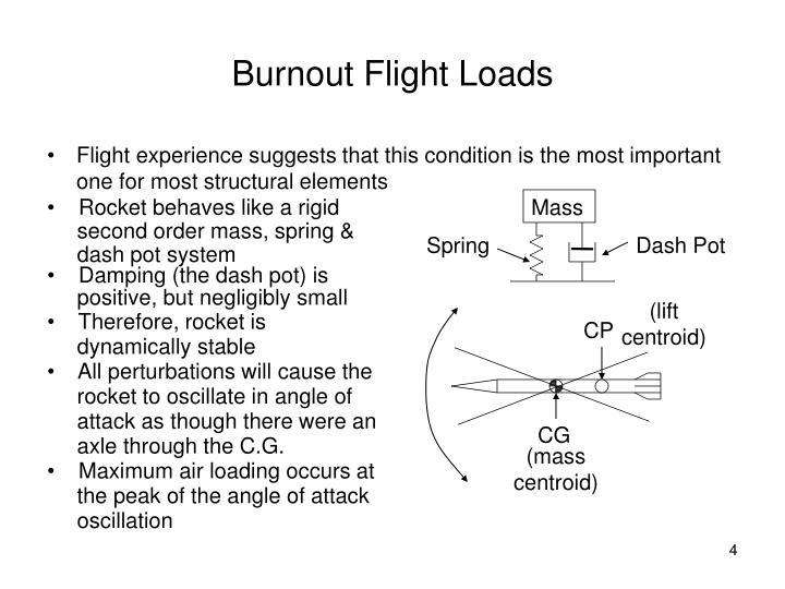 Burnout Flight Loads
