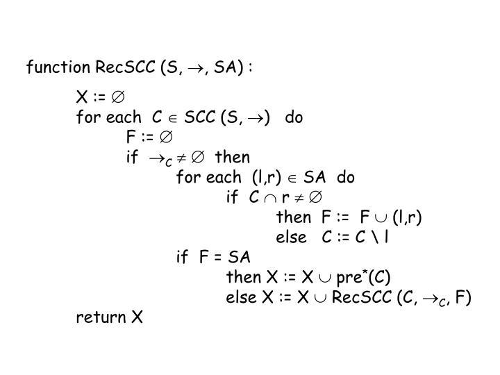 function RecSCC (S,