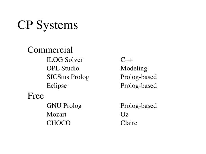 CP Systems