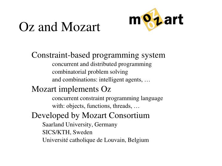 Constraint-based programming system