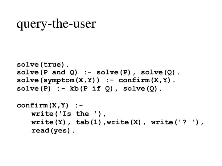 query-the-user