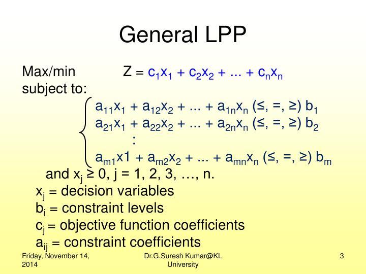 General LPP