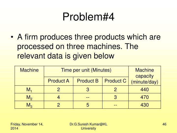 Problem#4