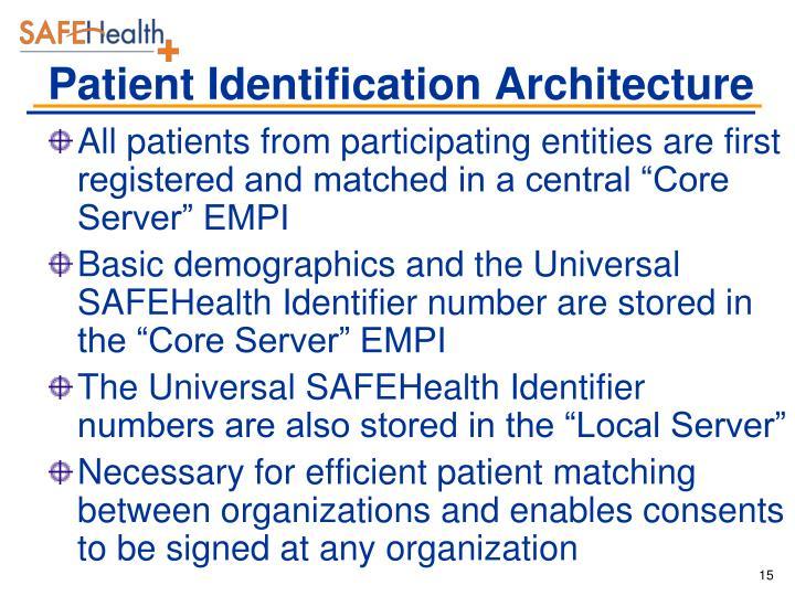 Patient Identification Architecture