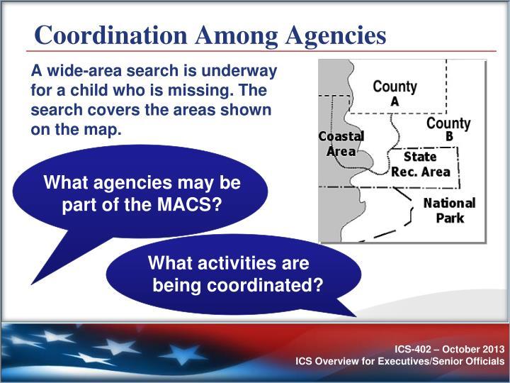 Coordination Among Agencies