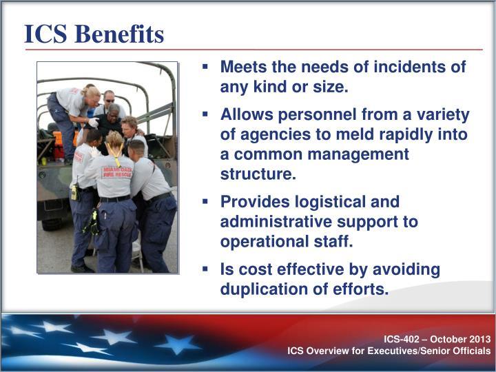 ICS Benefits