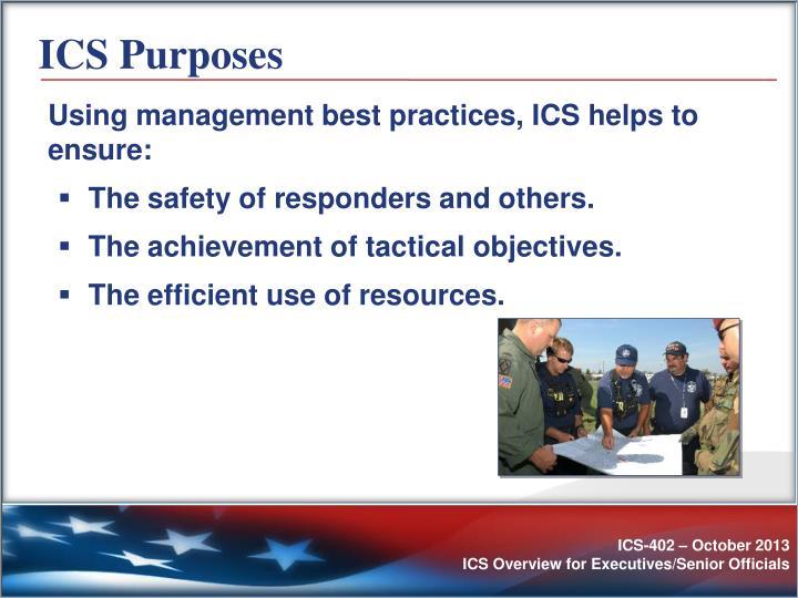 ICS Purposes