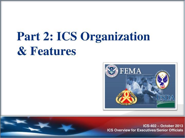 Part 2: ICS Organization