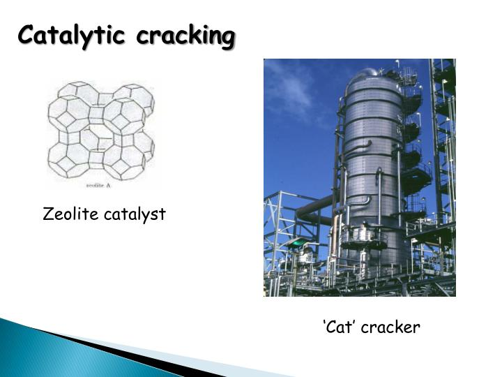 Catalytic cracking