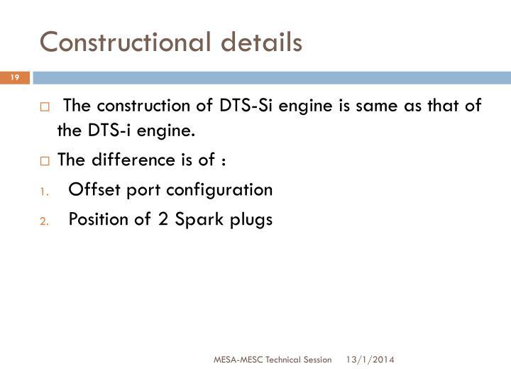 Constructional details