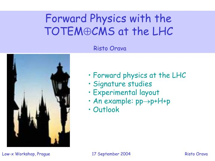 Forward Physics with the