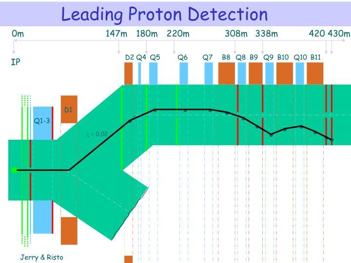 Leading Proton Detection