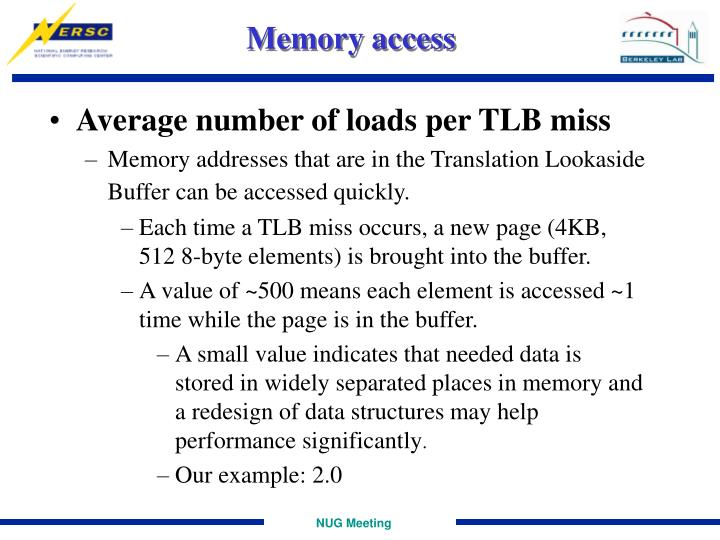 Memory access